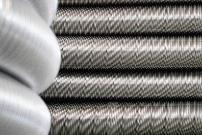 Semi Flex Stainless 1 - Semi Flexible Ducting: 316l Stainless Steel